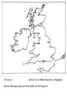Katie Morag- simple map of British Isles by lauralu18