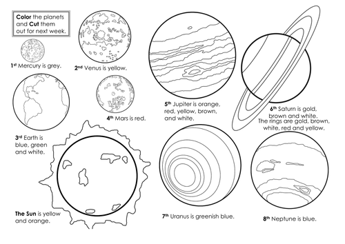 Our Solar System- basic planetary facts by andiwork