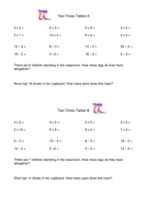 Times Tables Tests
