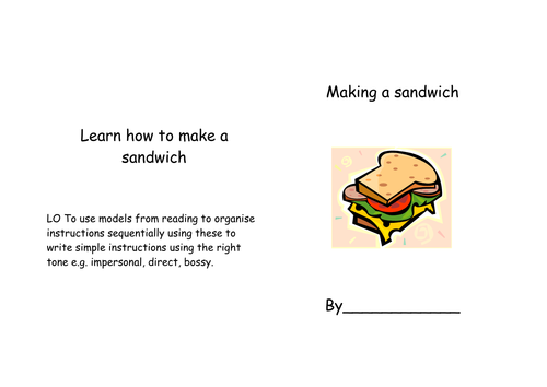 Instructions writing formatsworksheets by magicsparkle Teaching – Procedural Text Worksheets