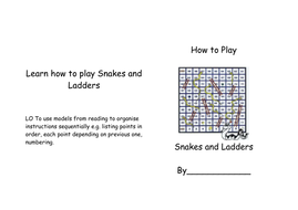 Learn how to play Snakes and Ladders.doc