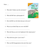 A Dog For A Day Oxford Comprehension