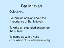 Bar Mitzvah extended writing piece.ppt