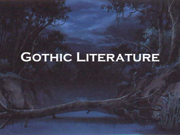introduction to gothic literature
