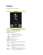 Eminem Biography.doc