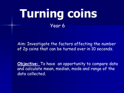 Turning coins Yr 6.ppt