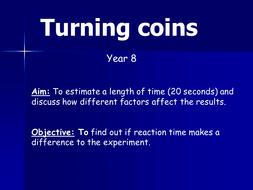 Turning coinsYr8.ppt
