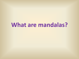 What are mandalas.ppt