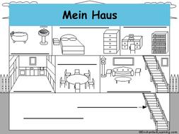 Mein Haus by eixxel - Teaching Resources - Tes