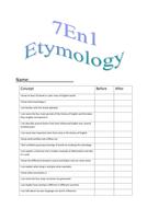 Etymology Booklet: History of English