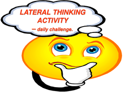 Lateral Thinking Activity