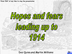 Hopes and Fears 1914.ppt