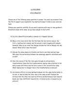 life is beautiful by littlemac teaching resources tes la vita e bella essay questions doc