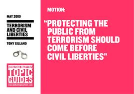 Debating Matters Topic Guide - Terrorism and Civil Liberties