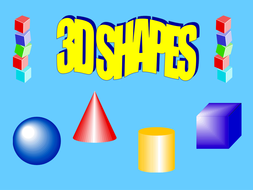 introduction to 3d shape powerpoint by kez1985 teaching resources