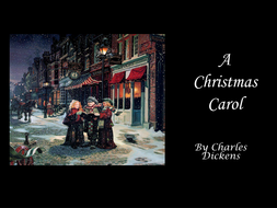 A Christmas Carol by Charles Dickens: the plot