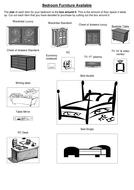 bedroom furniture.doc