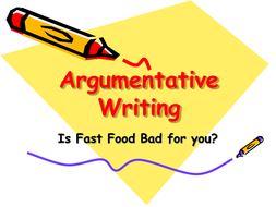 Fast Food Reading into Writing.ppt