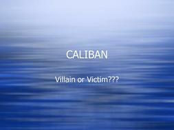 caliban analysis