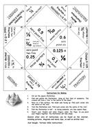 Equivalent Fractions & Decimals - Chatterbox