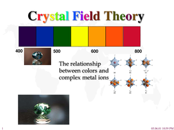 Crystal Field Theory