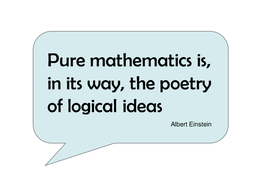 maths quotes by iburchett teaching resources tes