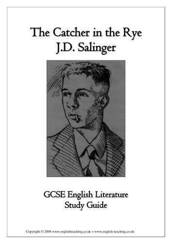 catcher in the rye study guide pdf