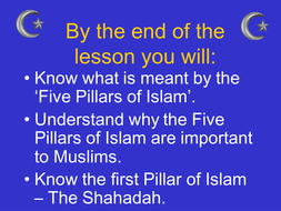 Introduction to the 5 pillars of Islam
