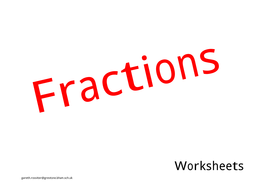 fractions worksheet y3 plus by tjfc66 teaching resources. Black Bedroom Furniture Sets. Home Design Ideas