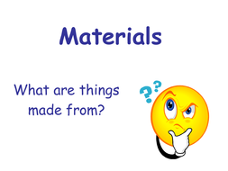 materials powerpoint by must be crazy teaching resources tes