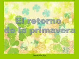 Months; days of the week; spanish calendar