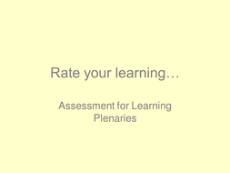 Rate your learning.ppt