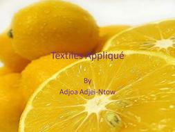 Textiles Applique