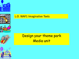 Theme Park Planning And Design By Harrisschool Teaching Resources