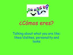 Spanish Colours - Los Colores