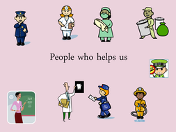 people who help us by sarahjayne66 teaching resources tes
