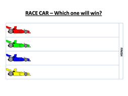 Car races - ordinal numbers