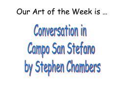 art of the week powerpoints by winni1 teaching resources tes