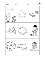 Jolly Phonics bk 1 Practice Sheets