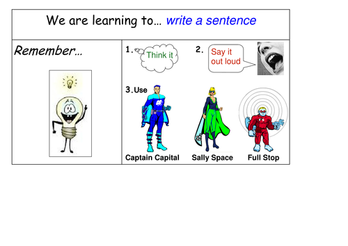 punctuation superheroes for reception and ks1 by butterbeer teaching resources tes. Black Bedroom Furniture Sets. Home Design Ideas