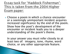 Poetry: 'Haddock Fishermen' by George Mackay Brown