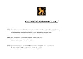 greek theatre performance LEVELS.doc