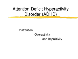 Teachers TV: ADHD in the Mainstream