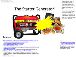 Starter Generator.ppt