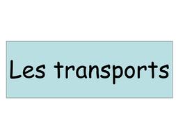Les transports 1 JCo.ppt