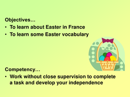 FRENCH EASTER LESSON.ppt