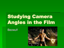 Studying Camera Angles in the Film.ppt