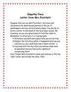 Boy Letter from Mrs Pratchett.doc