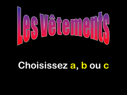 Vetements quiz.ppt