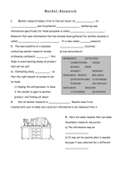 marketing worksheets QUESTIONS.doc
